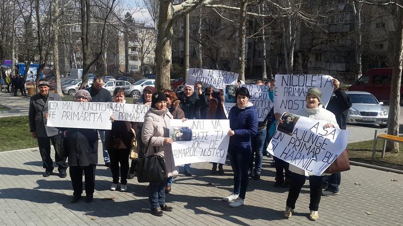 Protest la Curtea de Apel | Sursa: jurnal.md