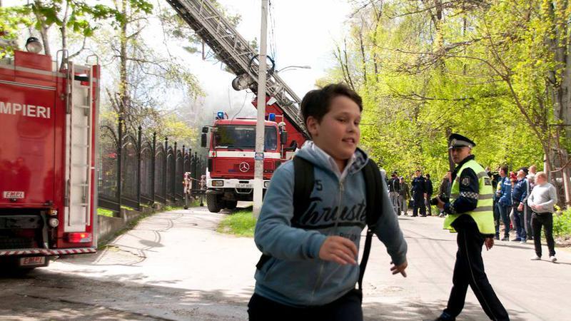 incendiu Telecentru4 | Sursa: NADEJDA ROSCOVANU