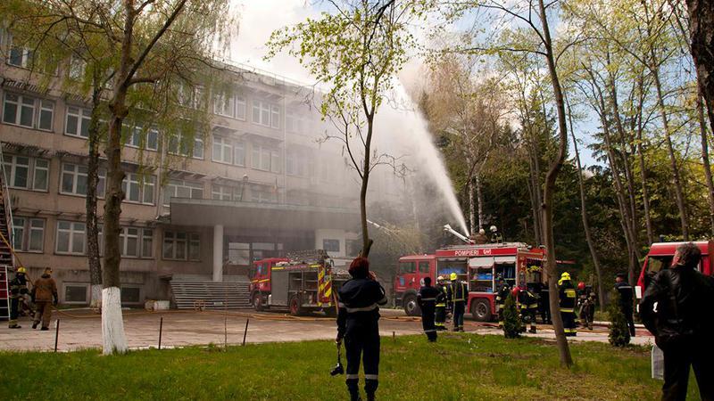 incendiu Telecentru2   Sursa: NADEJDA ROSCOVANU
