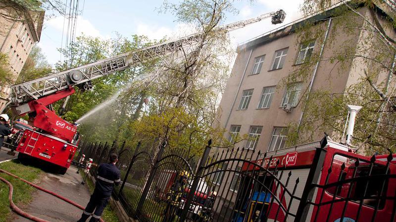 incendiu Telecentru6   Sursa: NADEJDA ROSCOVANU