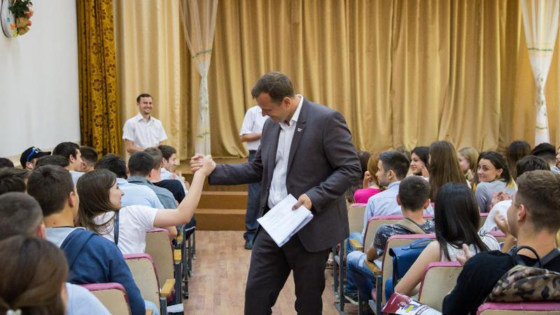 Andrei Năstase, întâlniri71 | Sursa: platformada.md