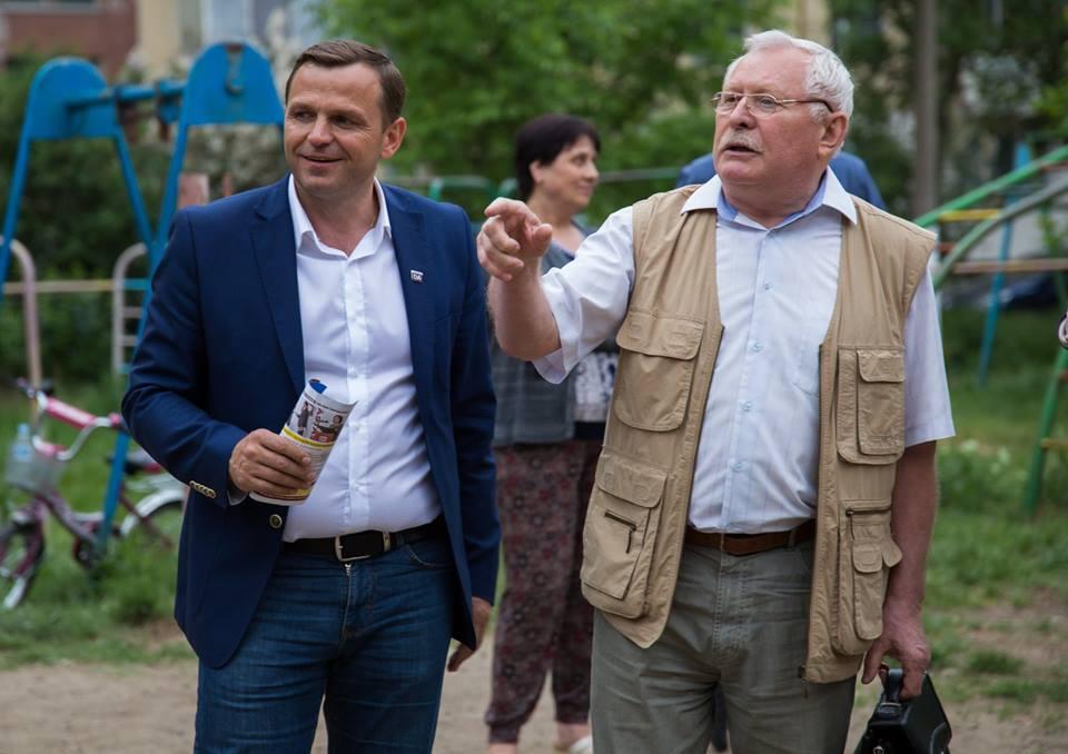 Andrei Năstase, întâlniri Ciocana7