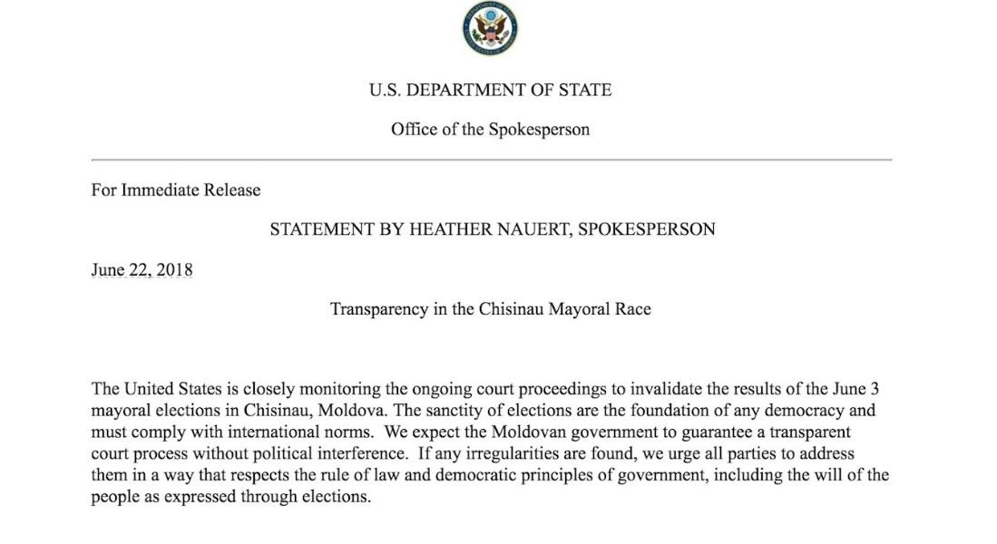 Departamenetul SUA