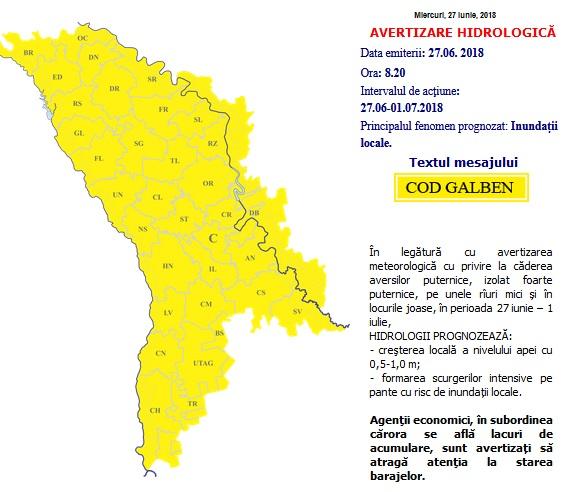 inundații locale