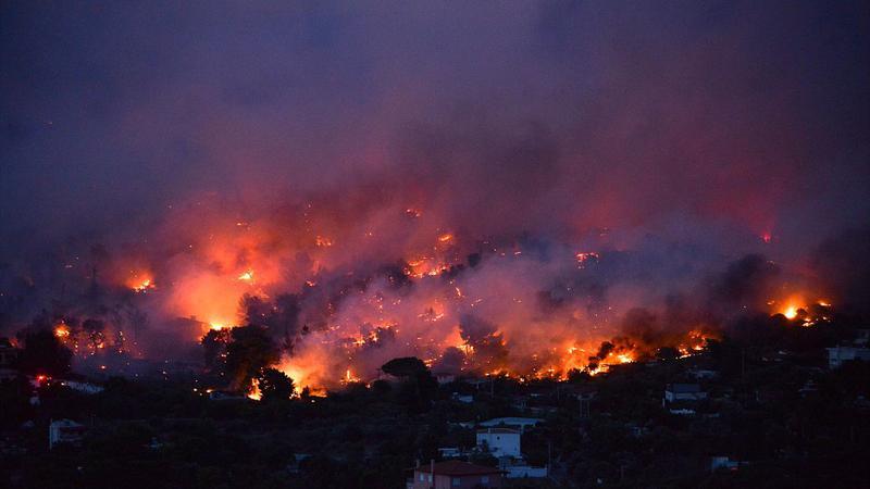 incendiu grecia12 | Sursa: AFP