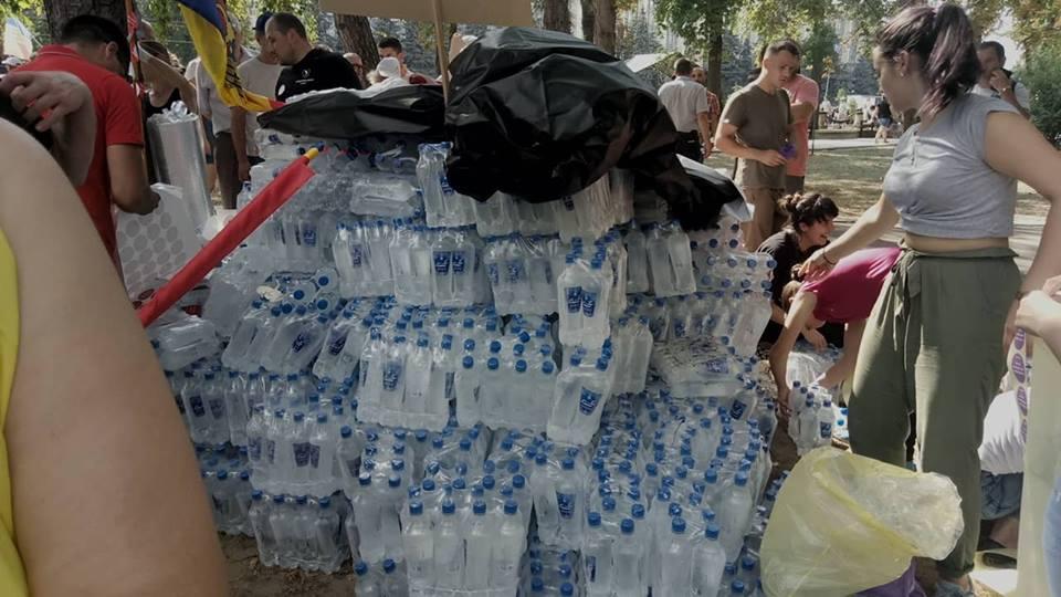 apă protest