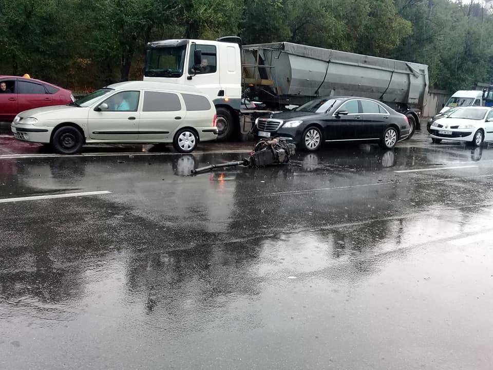 accident Calea Moșilor