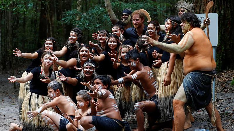 Prinţul Harry, întâlnire insulă3 | Sursa: PA
