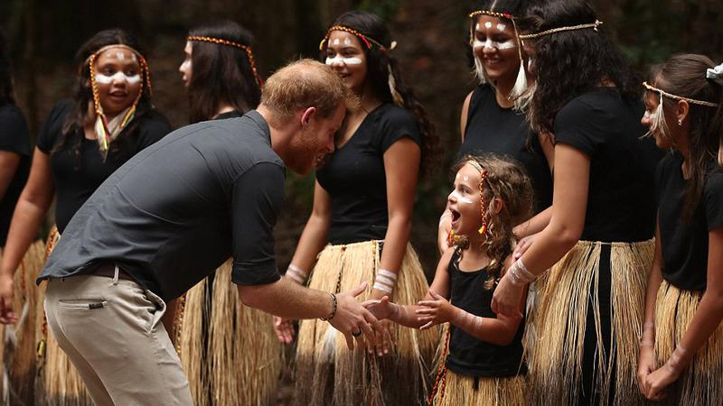 Prinţul Harry, întâlnire insulă4 | Sursa: PA