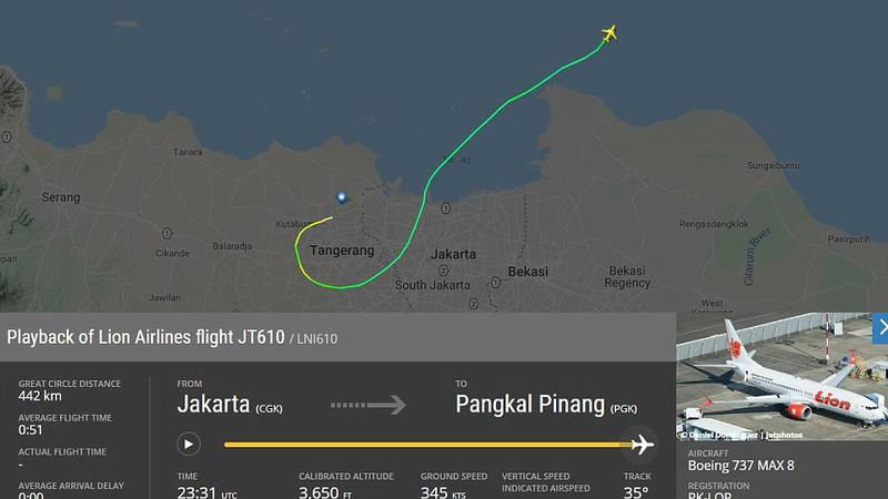 prăbușire avion în Indonezia2 | Sursa: dailymail.co.uk