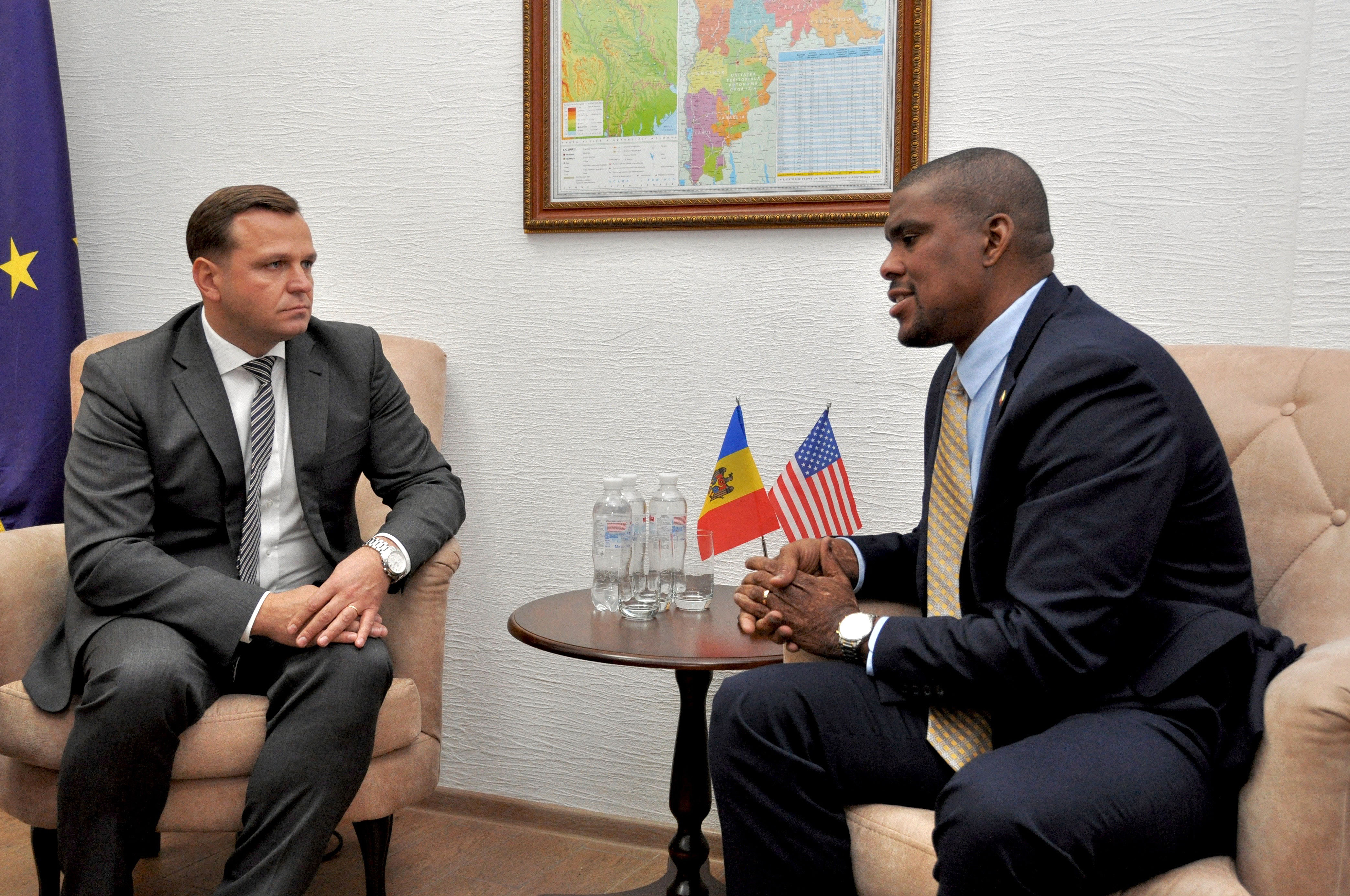 Andrei Năstase, întâlnire ambasadroul SUA