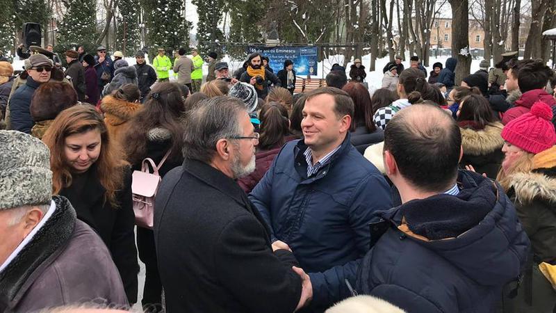 Andrei Năstase la Iași | Sursa: jurnal.md