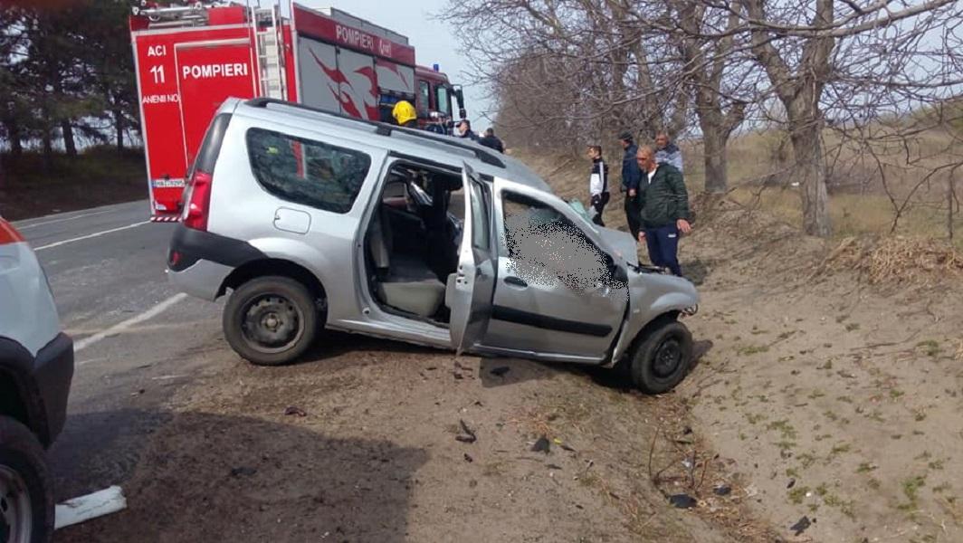 accident Țânțăreni