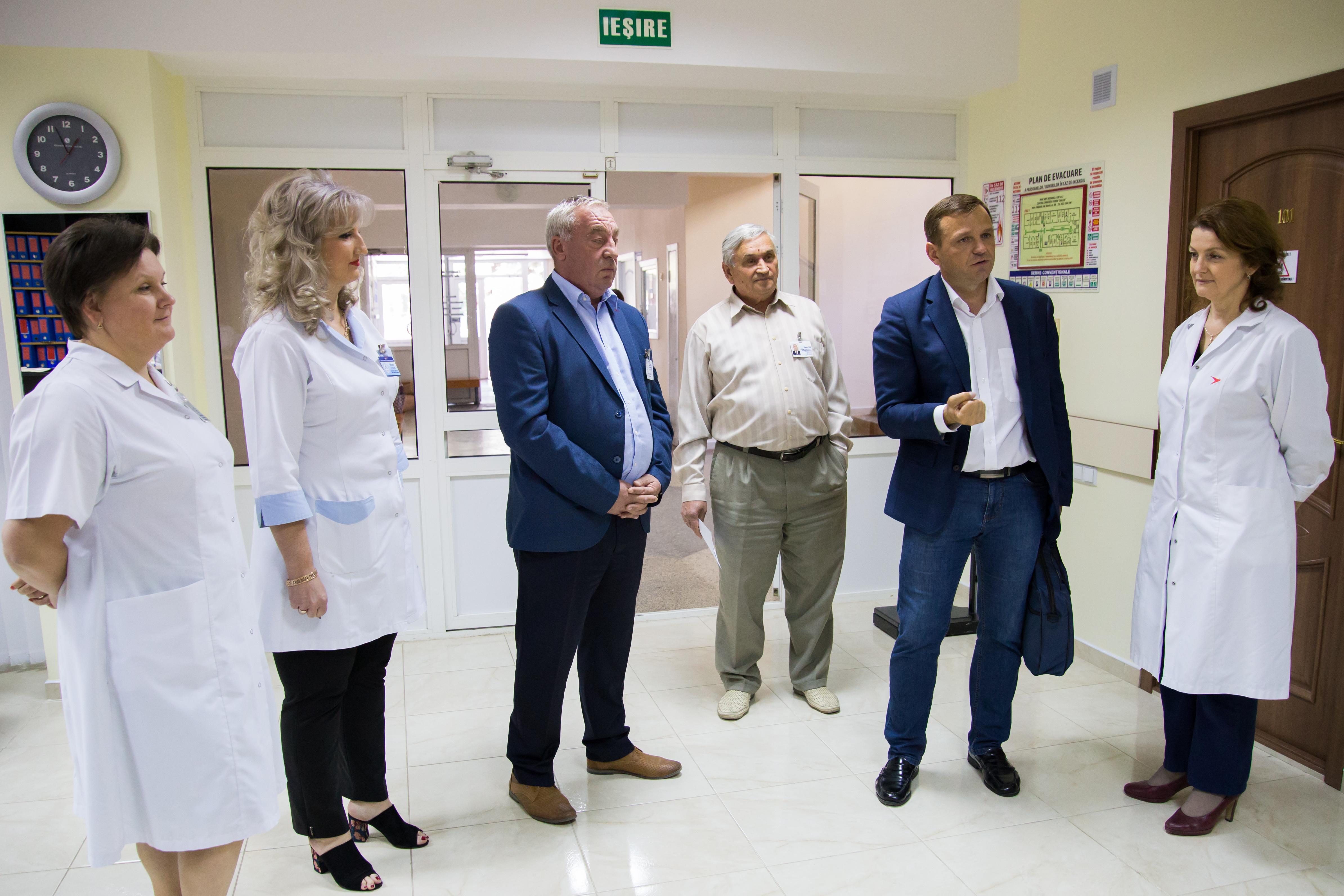 Andrei Năstase, întâlnire medici4