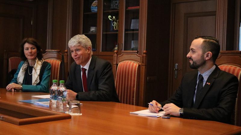 ambasadorul Elveției | Sursa: mfa.gov.md
