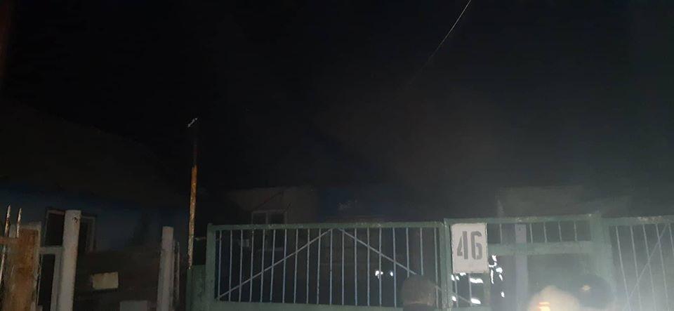 incendiu Petricani