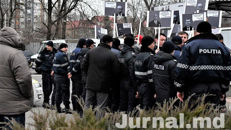 protest la Memorial, 2.03.2020 | Sursa: Jurnal.md / Nadejda Roșcovanu
