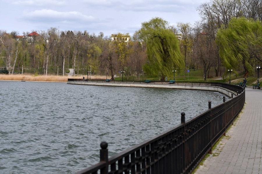 Valea Morilor parc Chișinău lac