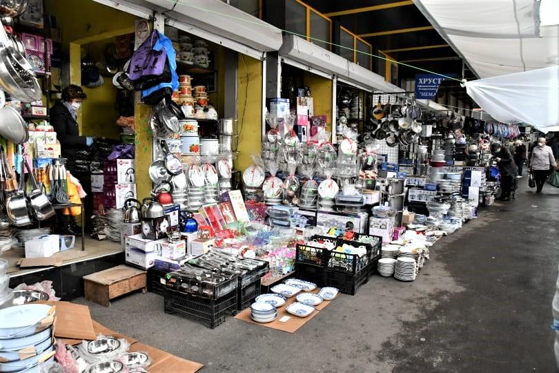 Piața Centrală comerț vânzători