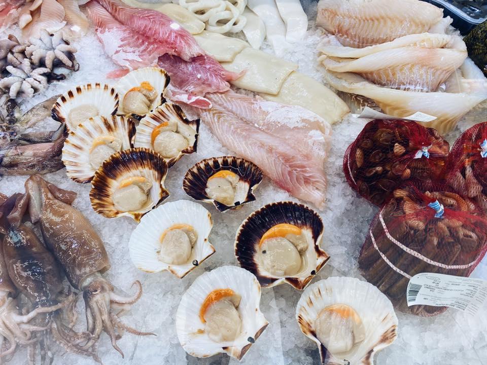 fructe de mare pește