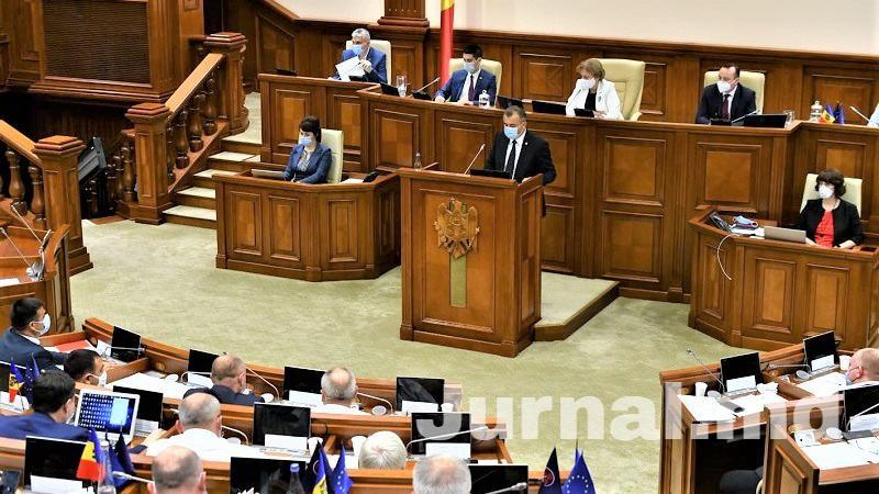 Parlament Chicu | Sursa: Jurnal.md / Nadejda Roșcovanu