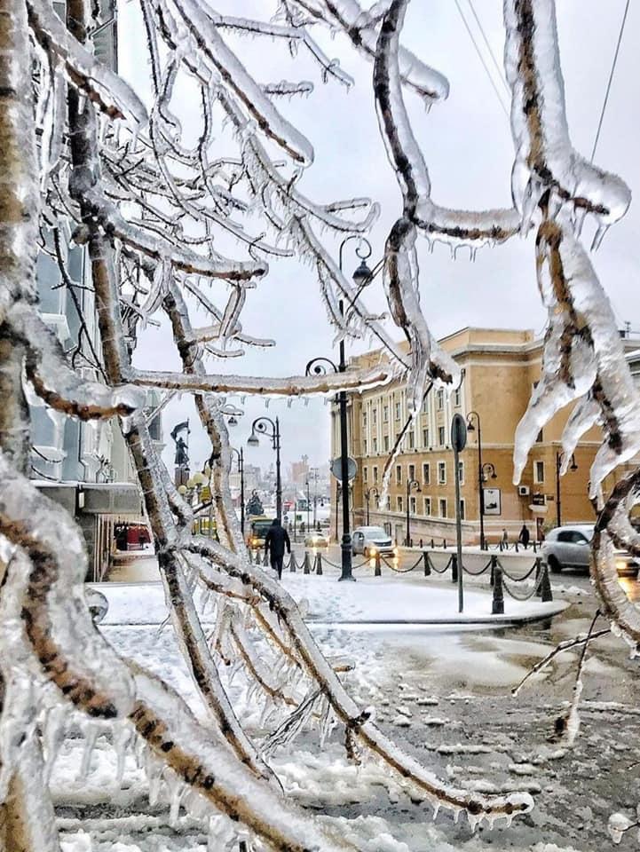Vladivostok iarnă